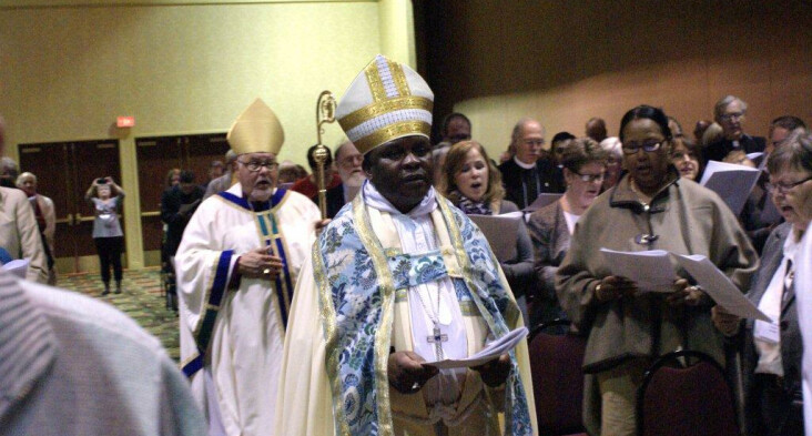 Bishops Miller and Mnung'a - Convention 2014