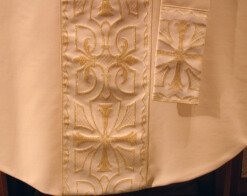 Chasuble and Stole - A chasuble and stole,...