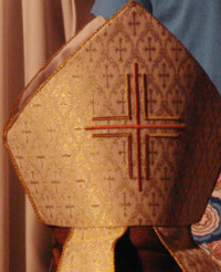 Bishop Mitre - the bishop's mitre is one of...