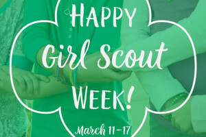 Girl Scout Sunday at St Thomas of Canterbury STOC, Greendale